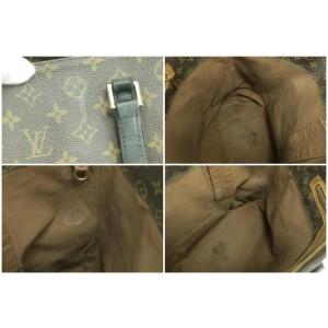 Louis Vuitton Cabas Alto Large Monogram Gm 10lk1226 Brown Coated Canvas Tote