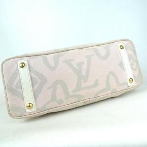 Louis Vuitton Limited Tahitienne PM Cabas Pink Monogram 872886