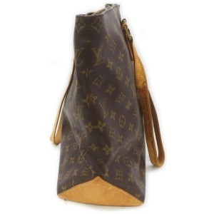 Louis Vuitton Monogram Cabas Mezzo Zip Tote Bag 862436