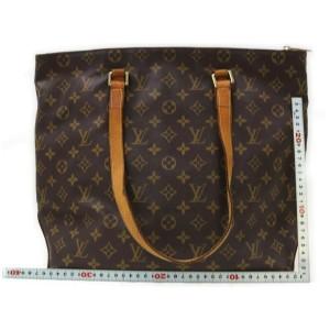 Louis Vuitton Monogram Cabas Mezzo Zip Tote bag