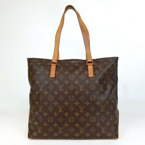 Louis Vuitton Monogram Cabas Mezzo Zip Toe MM 860055