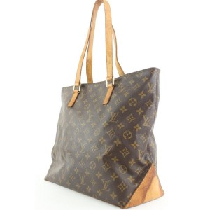 Louis Vuitton Monogram Cabas Mezzo Zip Tote Bag 5lvlm39