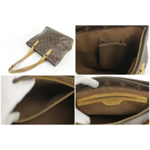 Louis Vuitton Monogram Cabas Piano Zip Tote 34LK859