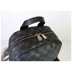 Louis Vuitton Black Damier Infini Leather Campus Backpack 858416