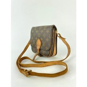Louis Vuitton Monogram Mini Cartouchiere PM Crossbody Bag 28LVL1125