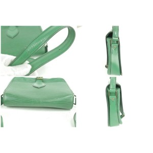 Louis Vuitton Green Epi Cartouchiere Crossbody 6LK0102