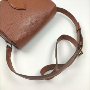 Louis Vuitton Brown Epi Leather Cartouchiere Crossbody Bag 862509