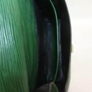 Louis Vuitton Green Epi Leather Cartouchiere Crossbody 872776