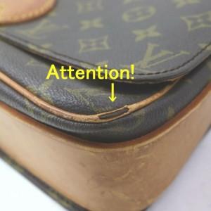 Louis Vuitton Shoulder Bag Cartouchiere Browns Monogra862684