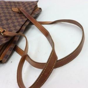 Louis Vuitton Damier Ebene Columbine Zip Tote Chelsea 871404