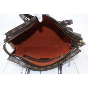 Louis Vuitton Damier Ebene Chelsea Zip Tote 861420