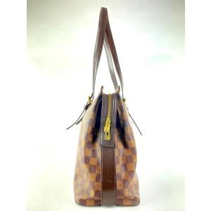 Louis Vuitton Damier Ebene Chelsea Zip Tote 9LVA1015