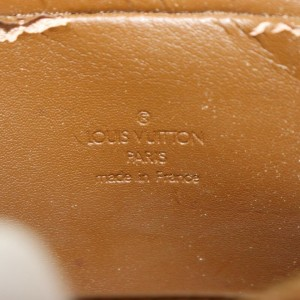 Louis Vuitton Bronze Monogram Vernis Copper Christie MM 871832