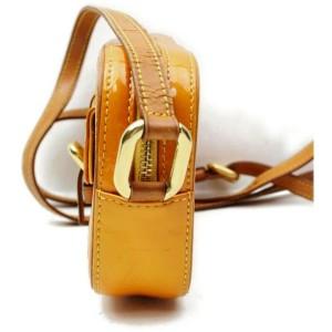 Louis Vuitton Christie MM Vernis Yellow Juliette Patent Monogram 872448