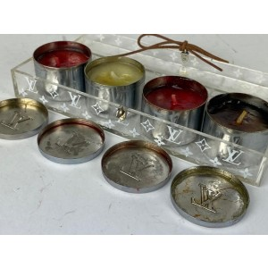 Louis Vuitton Monogram Candle Set 9la530