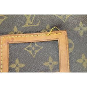 Louis Vuitton Rare Monogram Sac Golf Club Caddy Bag 862829