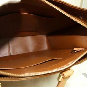 Louis Vuitton  Copper Bronze Monogram Vernis Columbus Zip Tote 8701450