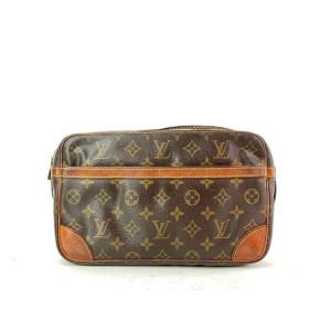 Louis Vuitton Monogram Compiegne 28 Clutch 9LVA910