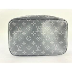 Louis Vuitton Black Monogram Eclipse Trousse Toilette PM Cosmetic Case 861825