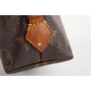 Louis Vuitton Monogram Demi Ronde Cosmetic Pouch Make Up Case 3LVS1211