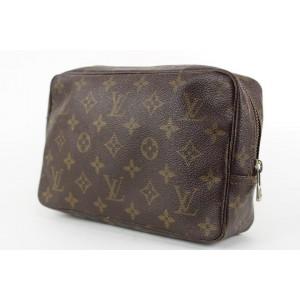 Louis Vuitton Monogram Trousse 23 Cosmetic Pouch Make Up Case 20lvs1231