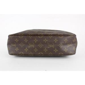 Louis Vuitton Monogram Trousse Toilette 28 Cosmetic Pouch Toiletry Case 4LVS1216