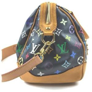 Louis Vuitton Monogram Multicolor Noir Courtney Boston 2way Shoulder Bag 862503
