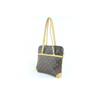 Louis Vuitton Coussin Monogram Gm 18lz1211 Brown Coated Canvas Tote