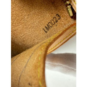 Louis Vuitton Limited Edition Vinyl Monogram Ambre MM Tote Bag with Pouch 861916