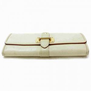 Louis Vuitton Favori Suhali Leather Wallet Portefeuille Le Fabuleux Cream 860548