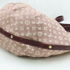 Louis Vuitton Monogram Bordeaux Sepia Monogram Mini Lin Rhapsodie Croissant 871483