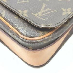 Louis Vuitton Monogram Cartouchiere MM Crossbody Bag 862497