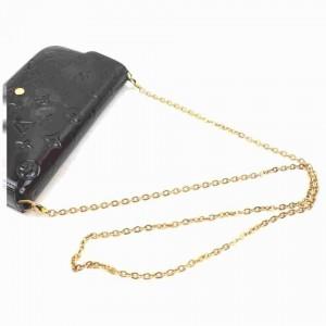 Louis Vuitton Monogram Vernis Pochette Felicie Crossbody Chain Flap w Inserts 858302