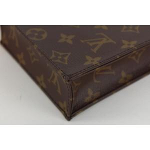 Louis Vuitton Monogram Mini Sac Plat Petit Nano Crossbody Bag 8lvs1230