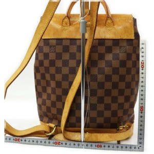 Louis Vuitton Damier Ebene Centenaire Arlequin Backpack 863177