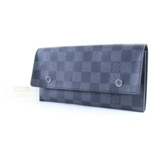 Louis Vuitton Damier Graphite Long Modulable Flap Wallet 19LR0307