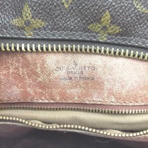 Louis Vuitton XL Monogram Danube Crossbody Messenger Bag 863076
