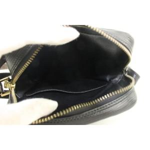 Louis Vuitton Black Epi Leather Noir Danube Crossbody Bag 190lvs29