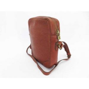 Louis Vuitton Kenya Brown Epi Danube Crossbody 234370