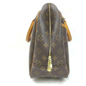 Louis Vuitton Monogram Deauville Bowler Bag  861797
