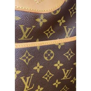 Louis Vuitton Monogram Deauville Bowler Boston 860770