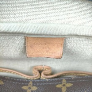 Louis Vuitton Monogram Deauville Bowler Boston  861593