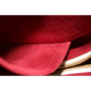 Louis Vuitton White Monogram Multicolor Blanc Deauville Bowler Bag 614lvs316