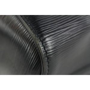 Louis Vuitton Black Epi Leather Noir Speedy 25 Boston Bag 23lvs422
