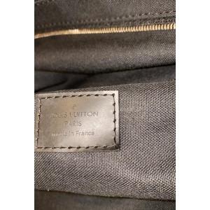 Louis Vuitton Damier Graphite Roadster 50 City Duffle Boston with Strap 861089