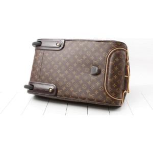 Louis Vuitton Monogram Eole 50 Rolling Luggage Convertible Duffle 857379