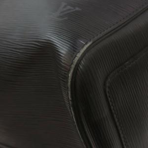 Louis Vuitton Black Epi Leather Keepall 50 Duffle bag 862432