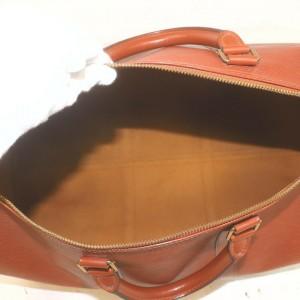 Louis Vuitton Brown Epi Leather Keepall 50 Duffle Bag MM 862242