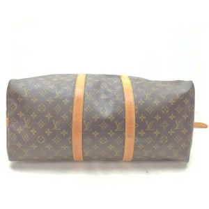 Louis Vuitton Monogram Keepall Bandouliere 50 Duffle Bag with Strap 862704