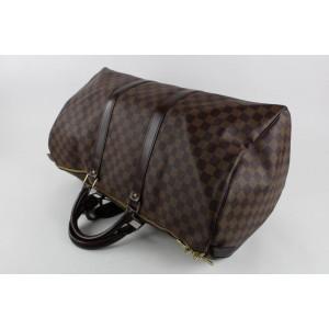 Louis Vuitton Discontinued Rare Damier Keepall 50 Duffle Bag 862414